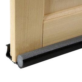 Conseils pour une isolation thermique et phonique de vos portes le bricomag - Isolation bas de porte d entree ...