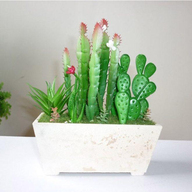 Décorer Un Petit Appartement Tout Ce Que Vous Devez Savoir: Le Cactus Artificiel : Ce Qu'il Faut Savoir