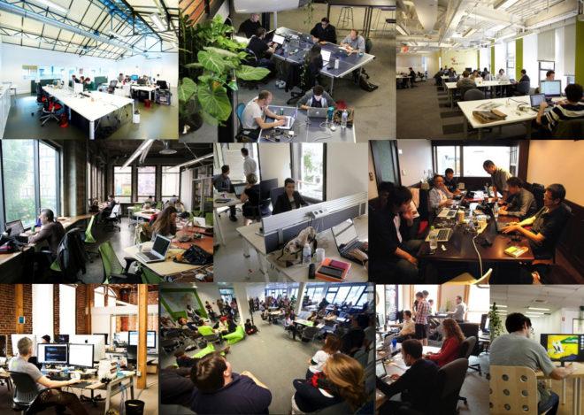 espaces de coworking - immobilier d'entreprise
