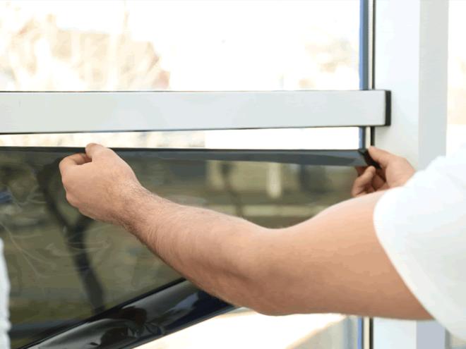 film de protection pour vitres de fenêtres