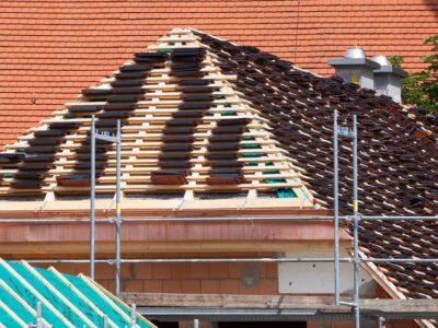 rénovation d'une toiture plate