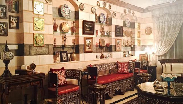 décoration intérieure islamique